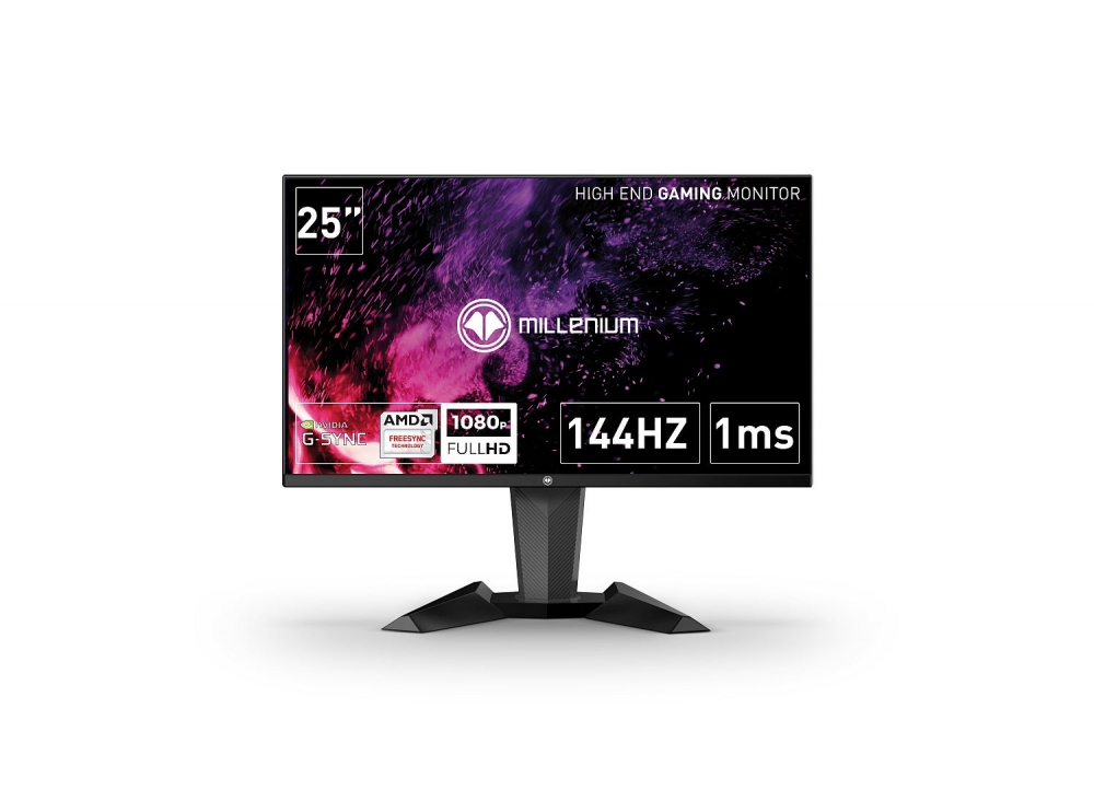Millenium Gaming-Monitor MD25 Pro 25 Zoll Full HD rahmenlos