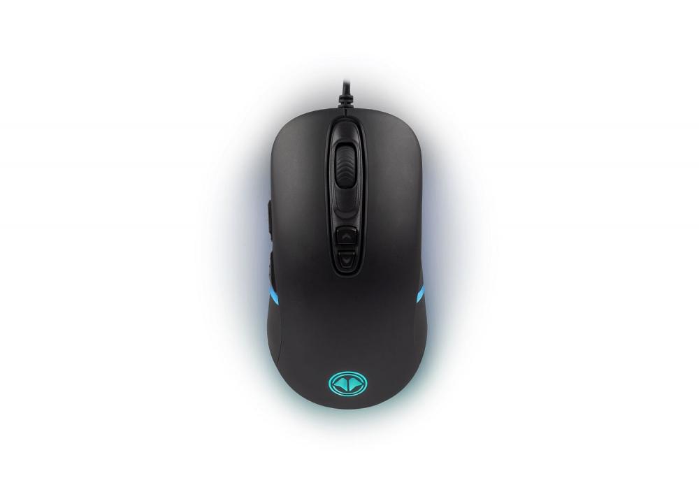 Millenium MO1 Advanced Gaming-Maus Kabelgebunden, optisch, 7 Tasten, 8000 DPI