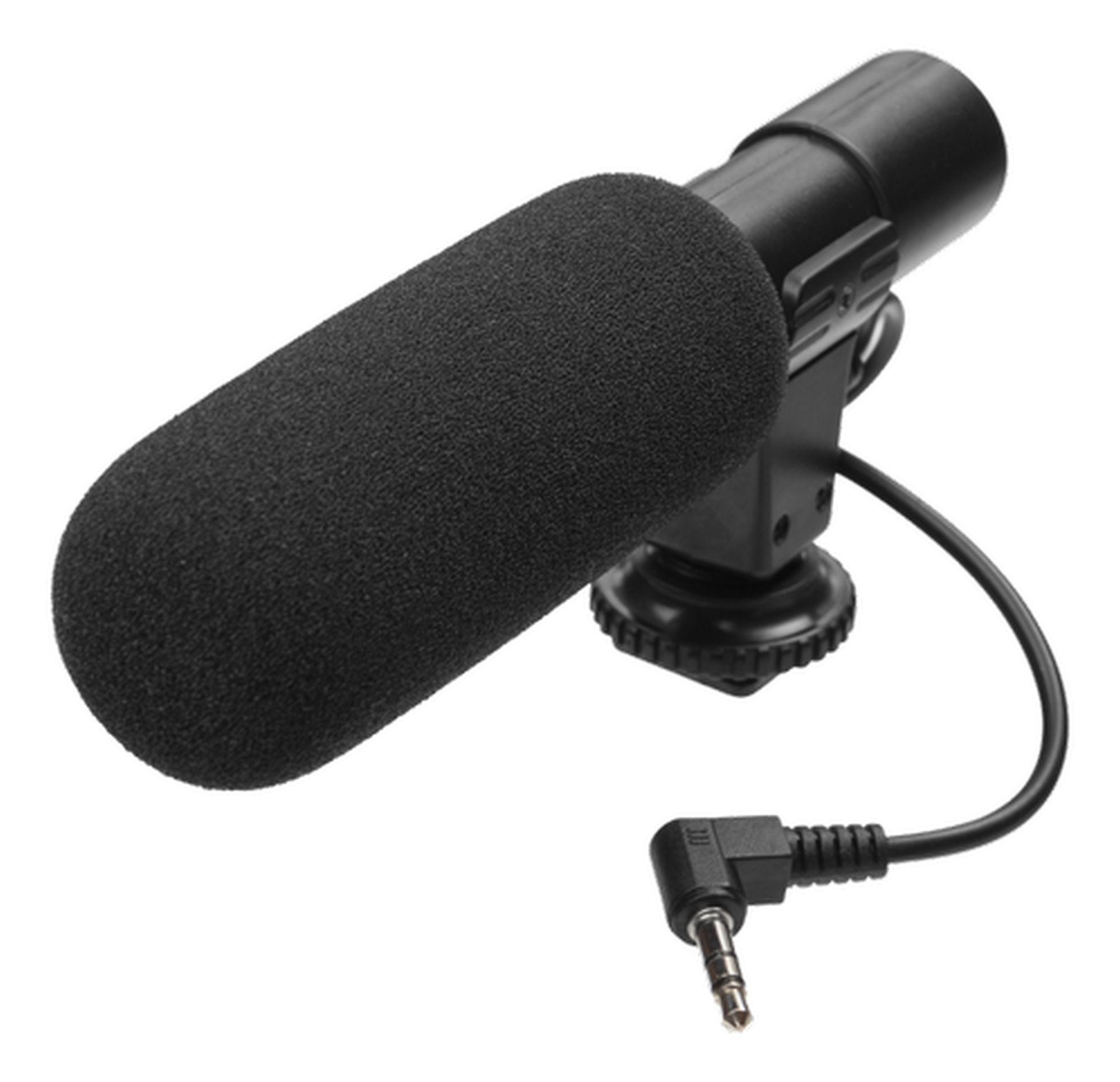 GadgetMonster GDM-1025 Vlogging Tisch-Mikrofon für Smartphones oder Kameras