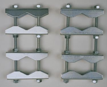 sky vision Doppelrohr Befestigungsset Stahl V1