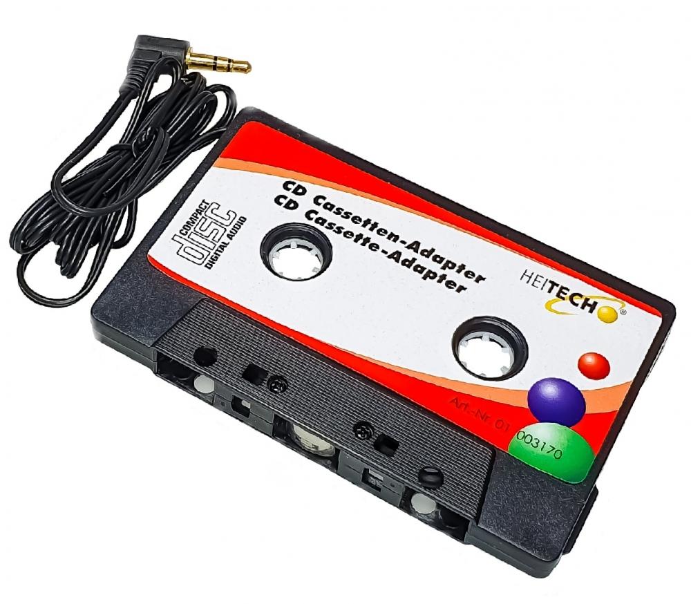 sky vision CD-Adapterkassette für MD/CD/MP3 über das Radio