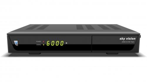 sky vision 2000 S-HD Twin HDTV Satellitenreceiver