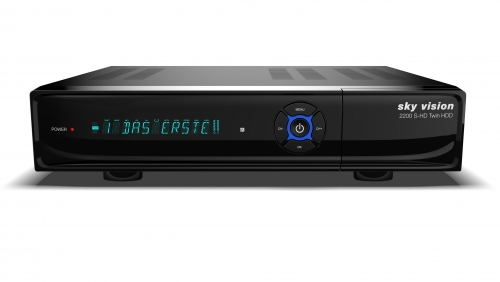 sky vision 2200 S-HD Twin HDD HDTV Satellitenreceiver