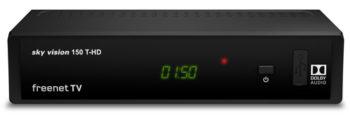 sky vision 150 T-HD HDTV DVB-T2 Receiver