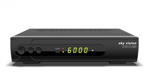sky vision 210 C-HD HDTV Kabelreceiver