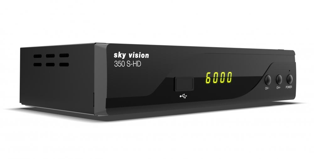 sky vision 350 S-HD HDTV Satellitenreceiver 2. Generation