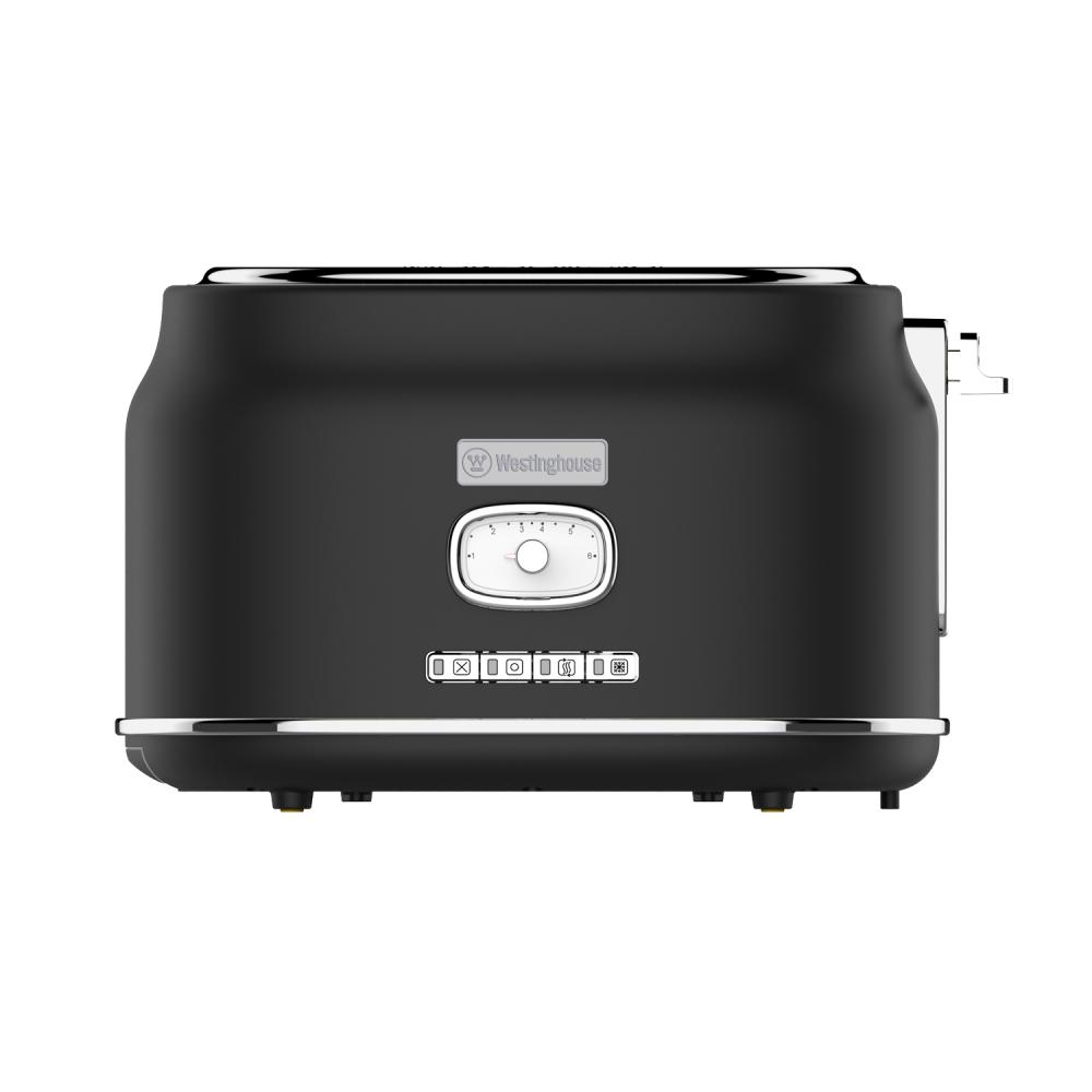 Westinghouse WKTT857BK Zwei-Schlitz Toaster (Retroline) schwarz