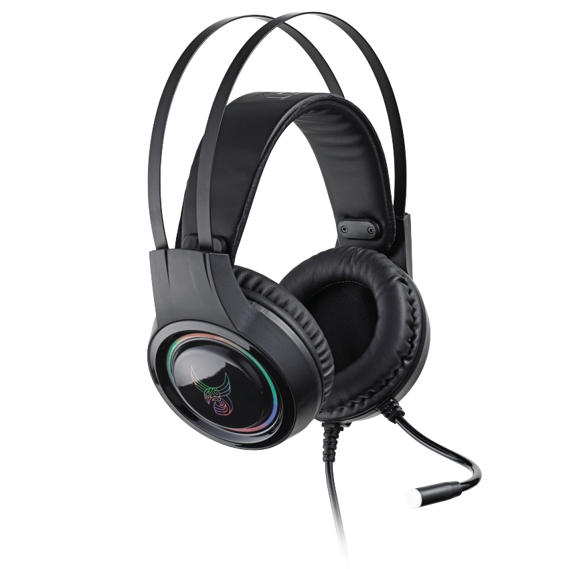 L33T GJALLARHORN Gaming-Headset mit Mikrofon und RGB-Beleuchtung