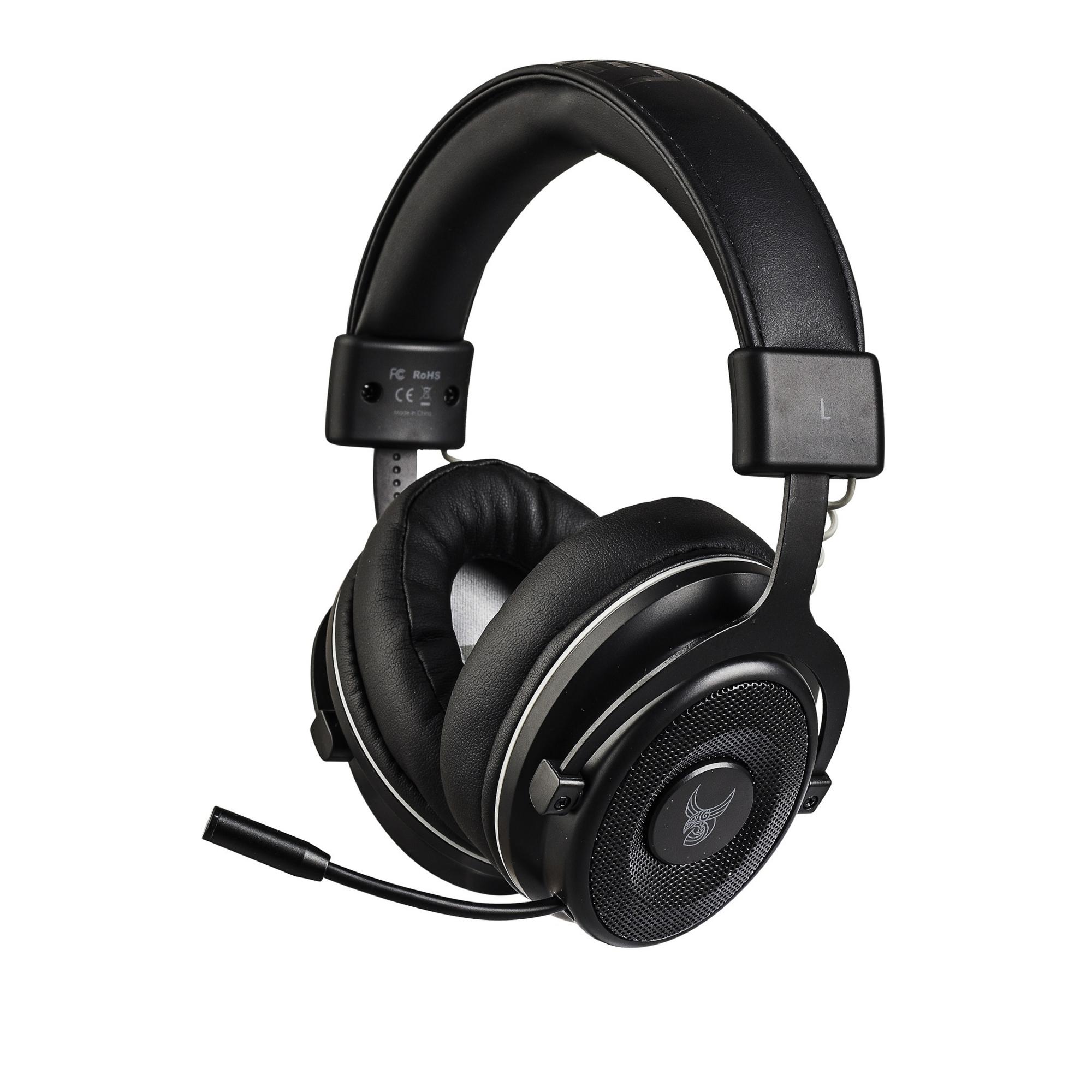 L33T MUNINN Gaming-Headset Kabellos mit Mikrofon