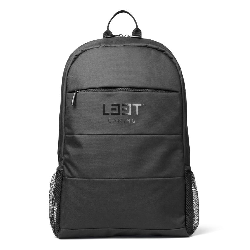 L33T Gaming-Rucksack  LIGHT für 15,6 Zoll Geräte, schwarz