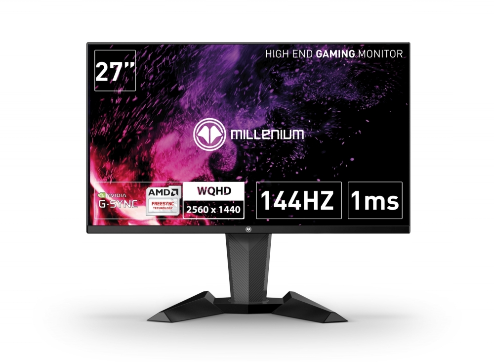 Millenium Gaming-Monitor MD27 Pro 27 Zoll QHD rahmenlos